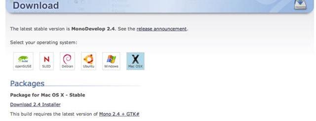 Writing C# Application on MAC OSX – Using MONO   Code Perfect